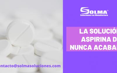 La solución aspirina de nunca acabar